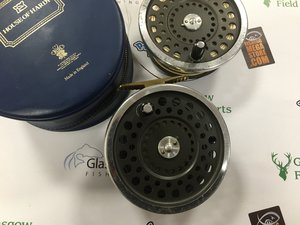 Preloved Hardy Marquis No2 Salmon Fly Reel with Spare Spool (England) - Used