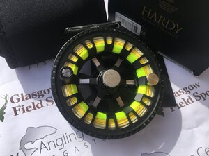 Preloved Hardy Ultralite 7000 #7/8/9 CA DD Black Fly Reel (Boxed) - Excellent