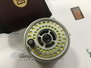 Preloved Hardy Ultralite Disc LA 9/10 Salmon Fly Reel (England) - As New