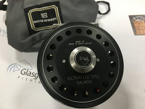 Preloved Hardy Ultralite Disc Salmon Fly Reel (England) - Used