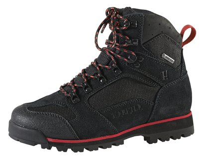 Harkila Backcountry II Lady GTX 6in Black/Dark Red