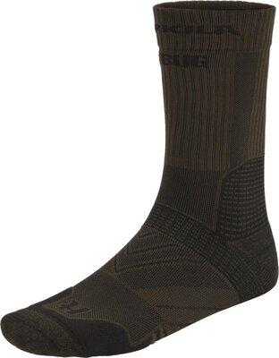 Harkila Trail Socks Dark Olive/Willow Green