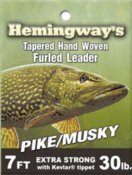 Hemingway Furled Leader Pike/Musky