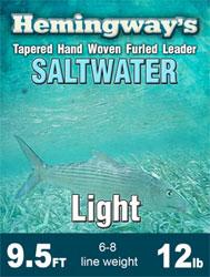 Hemingway Furled Leader Saltwater 12lb