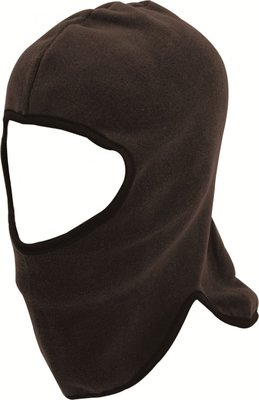 Highlander Open Face Polar Fleece Balaclava Black (one Size)
