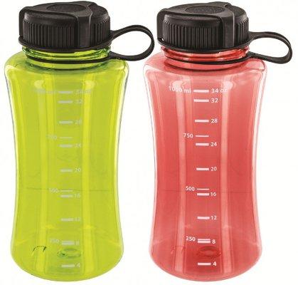 Highlander Polycarbonate Bottle 1Litre (4 Pack)