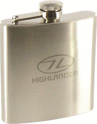 Highlander Steel Hip Flask 170ml