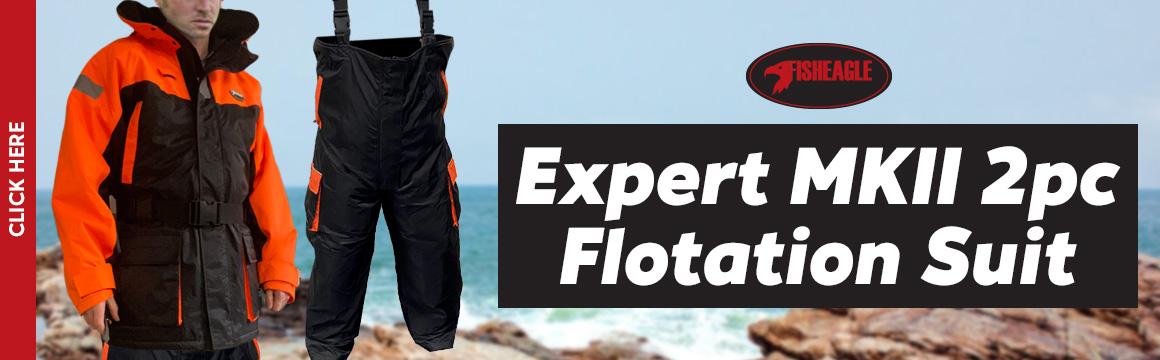 fisheagle expert mkii 2pc flotation suit