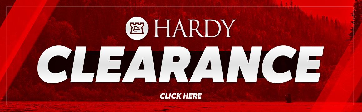 hardy clearance