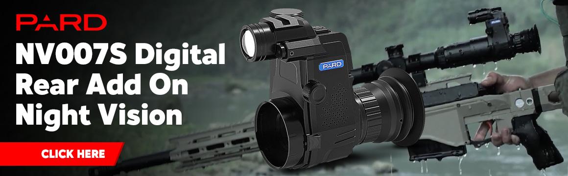 pard nv007s digital rear add on night vision