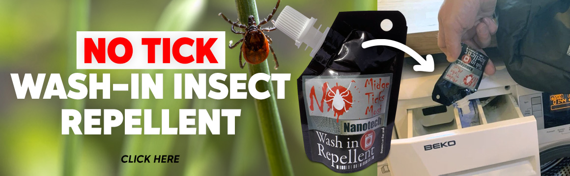 swedeteam no tick wash in insect repellent 50ml