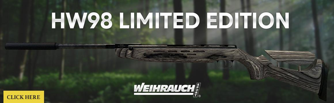 weihrauch hw98 limited edition laminate adjustable stock
