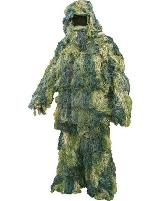 Kombat Ghillie Suit Woodland Camo