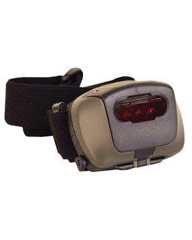 Kombat Military Style LED Headlamp + Red Filter