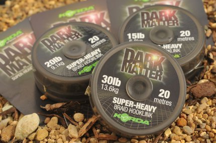 Korda Dark Matter Braid 20m Hook Link