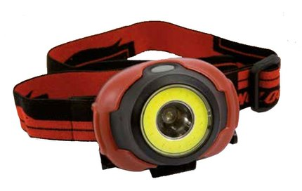 Lineaeffe COB LED Headtorch + Central LED Lamp