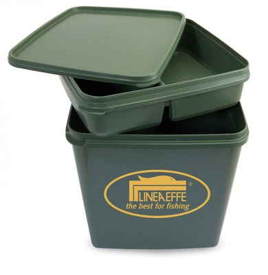 Lineaeffe Plastic Compartment Bucket Seat
