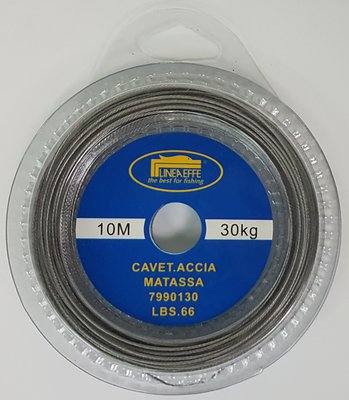 Lineaeffe Stainless 10m Wire & Crimps