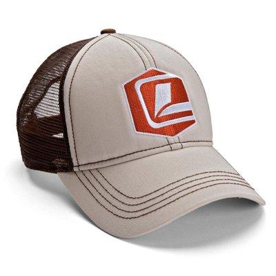 Loop Icon Trucker Cap Khaki/Brown