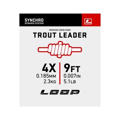 Loop Synchro 9ft Nylon Leader