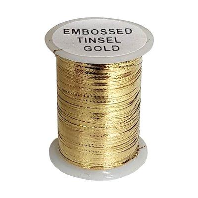 Lureflash Embossed Metal Tinsel Gold