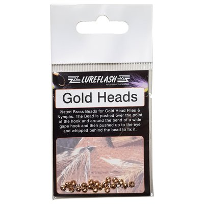 Lureflash Gold Beads 20pc Small