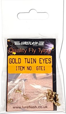Lureflash Gold Twin Eyes Small