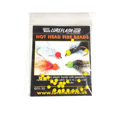 Lureflash Hot Head Fire Beads