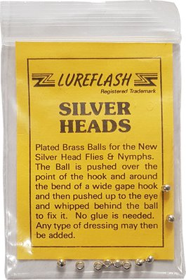 Lureflash Silver Heads