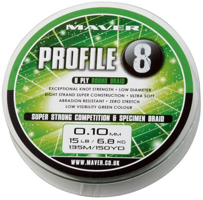 Maver Profile 8 Braid 150 Yards