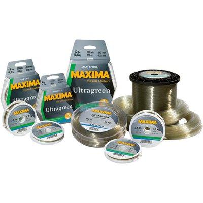 Maxima Ultra Green Monofilament 100m Spools
