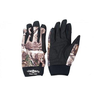 Mikado Camouflage Grey Gloves