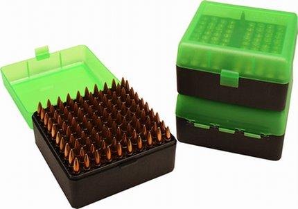 MTM 100 Round .223 Ammo Box