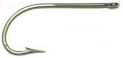 Mustad O'Shaughnessy Hook Classic Stainless Steel