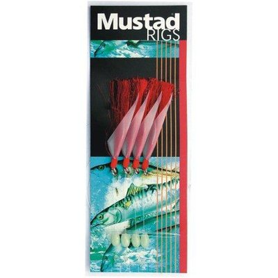 Mustad Red Flasher Rig Sz 3/0