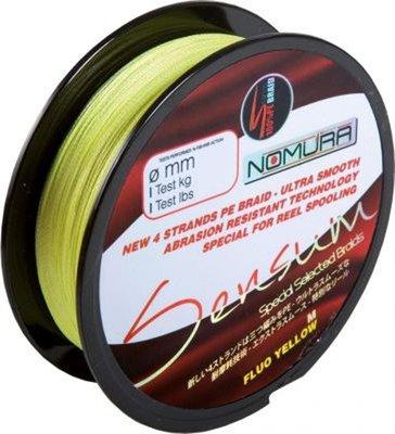 Nomura Sensum Braid 135m Fluo Yellow