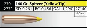 Nosler .270 /.277in 140g Spitzer x 50