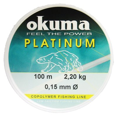 Okuma Platinum Mono Twin Pack