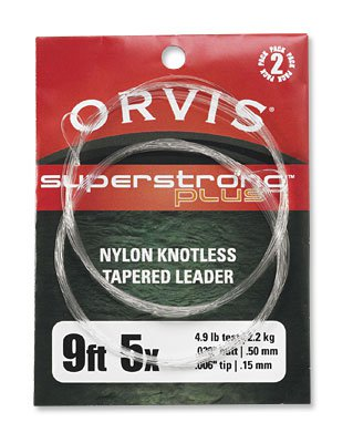 Orvis SS Plus Knotless Leaders 9ft Olive 2pk