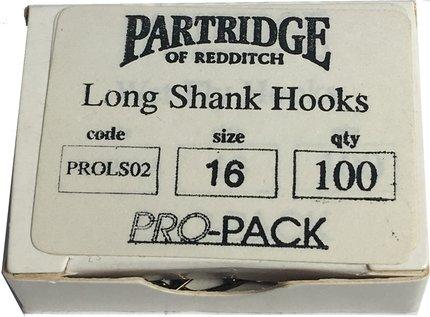 Partridge Pro-Pack Long Shank Sz16 100pk