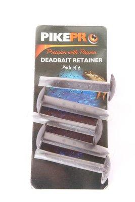 PikePro Deadbait Retainers 6pc