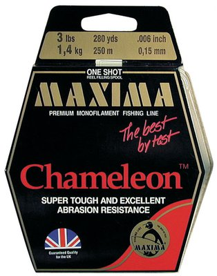 Maxima Chameleon Monofilament One Shot