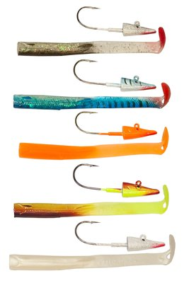 Red Gill Interceptor V8 Jig Series Lures