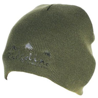 Ridgeline Apex Olive Beanie (One Size)