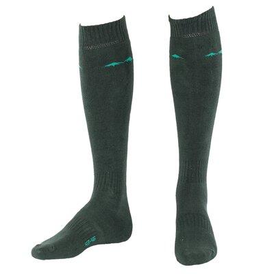Ridgeline Cotton Rich Socks Olive 3 Pairs Pack
