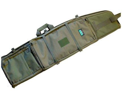 Ridgeline Sniper Tactical Rifle Drag Bag Olive