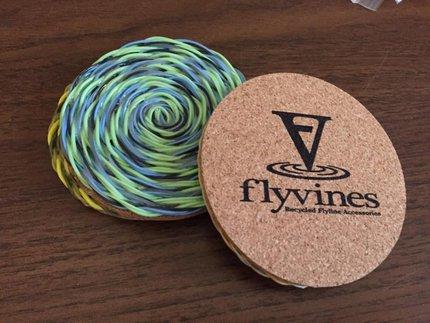 Rio Flyvines Coaster Set Of 3