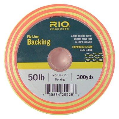 Rio Twin Colour Gel Spun Backing 50lb