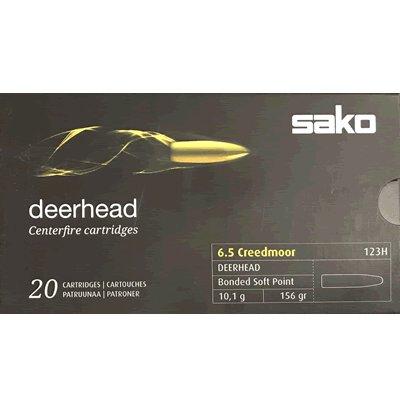 Sako 6.5 Creedmoor TRG 123H 156gr Soft Point (20 Box)