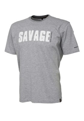 Savage Gear Simply Savage Tee - Light Grey Melange
